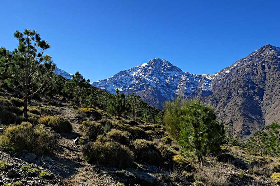 6 Days Mount Toubkal Around Trek - From Marrakech