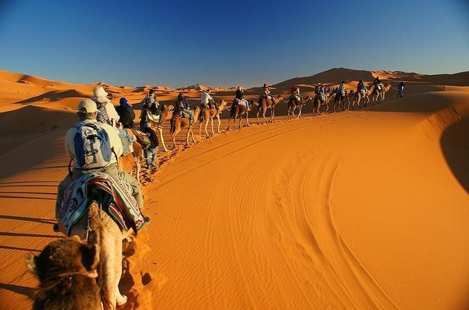 3 Days Toubkal Trek and 3 days Sahara Trip