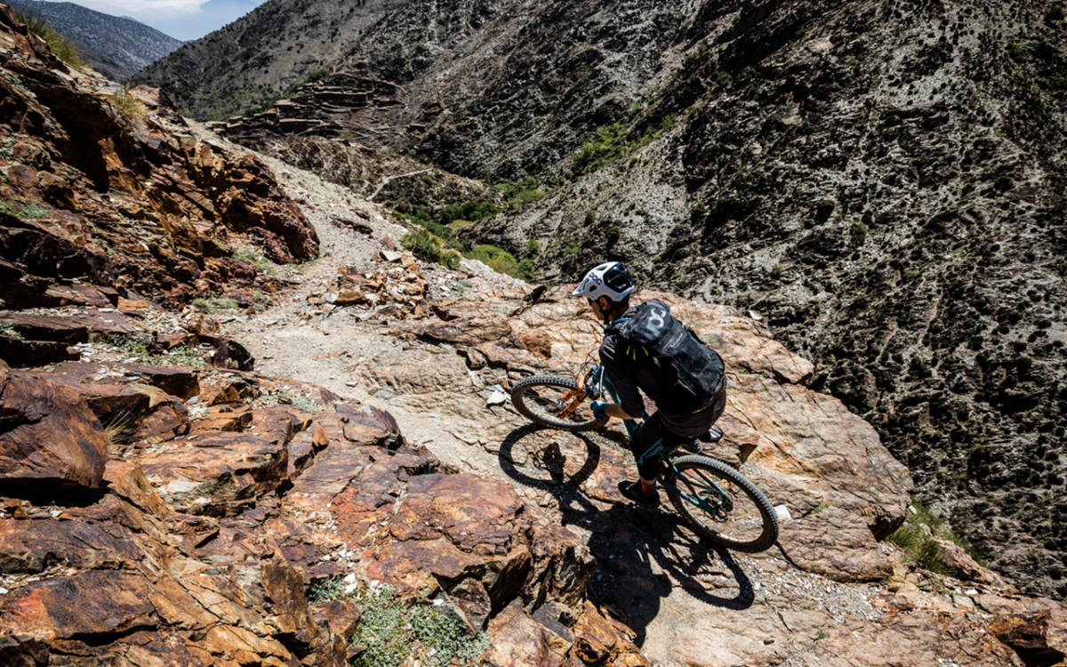 3 DAYS Combined Toubkal Trekking and Mountain Biking in High Atlas Morocco