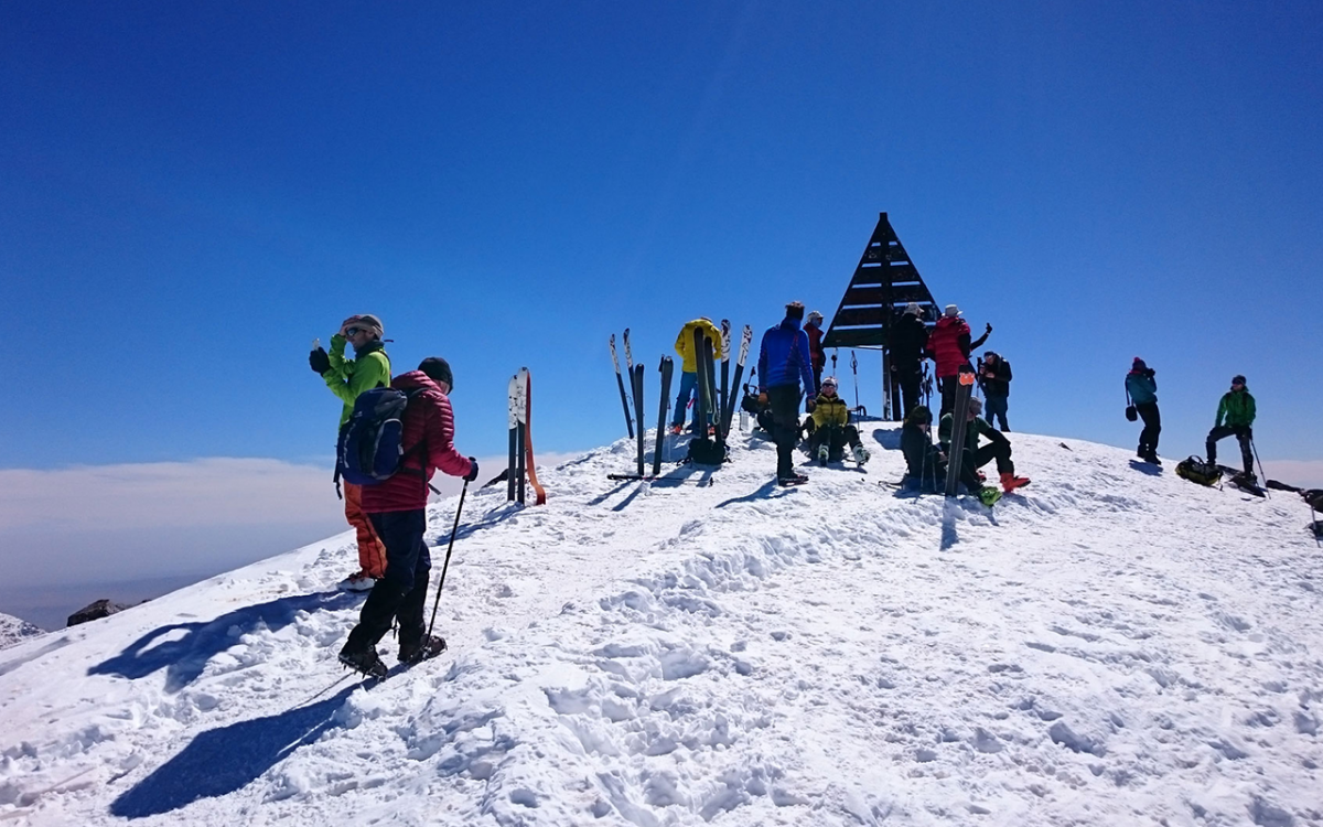 9 DAYS COMBINED SKI TOURING IN TOUBKAL & SAHARA RESERT TRIP