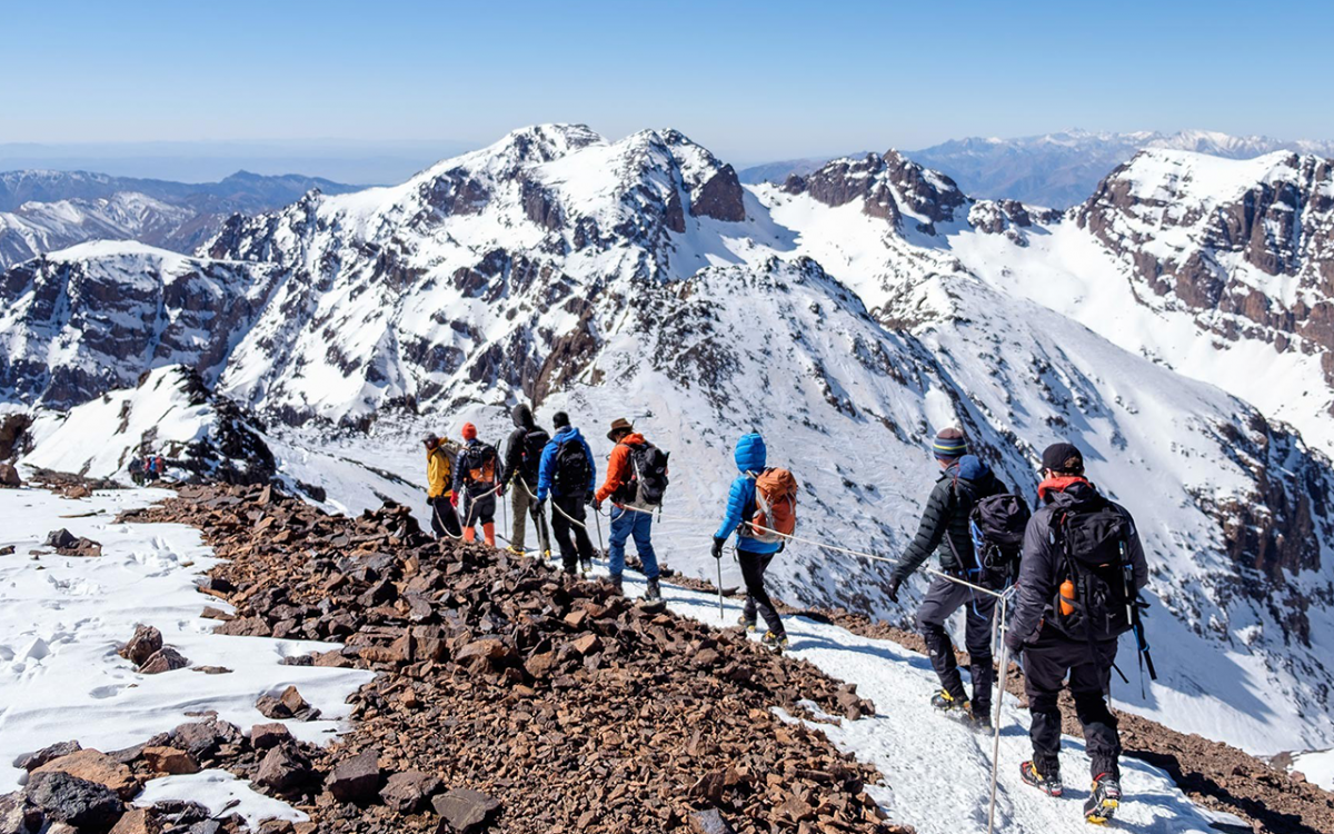 5 Days Ski Tour in High Atlas Morocco